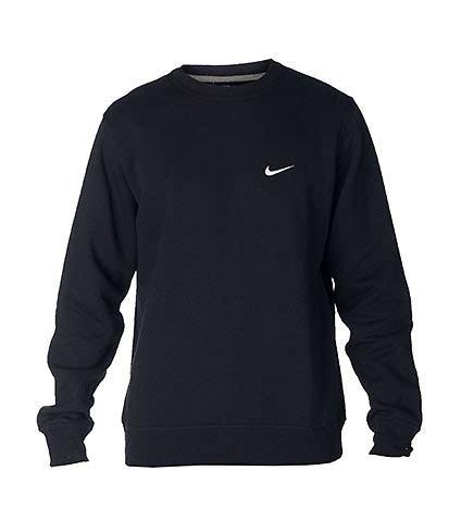 Hoodiesweater Nike E nike sportswear nike club swoosh crew sweatshirt black