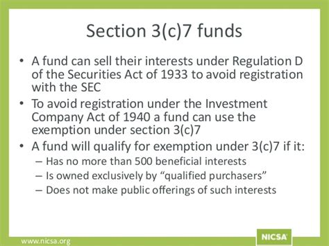 investment company act section 3 c hedge funds 101