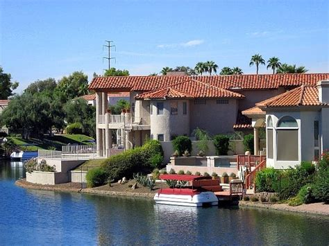 Arizona Search Attractive Waterfront Property In Scottsdale Arizona For Sale Scottsdale Mls Search