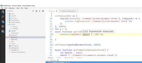 javascript module pattern stack overflow javascript vscode dynamic es6 module import error