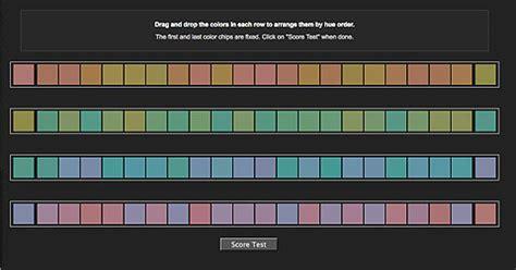 color hue test munsell hue test