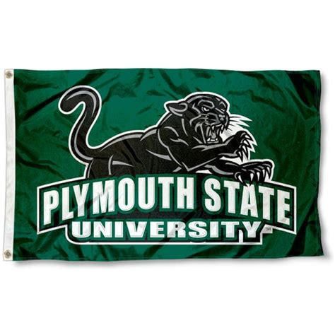 plymouth panther plymouth state panthers flag and plymouth state panthers flags