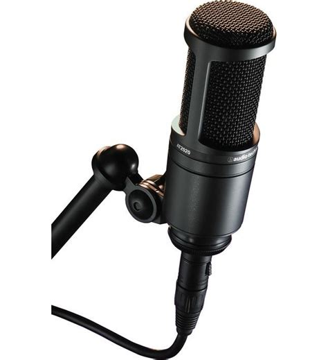 condenser microphone how at2020 condenser microphone