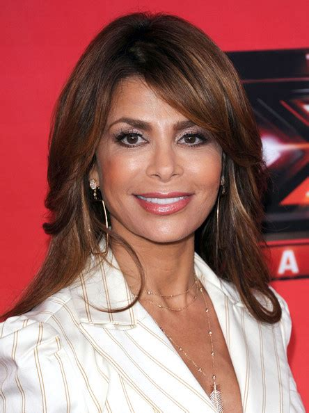 Paula Abdul Hairstyles by Paula Abdul Layered Curly Hairstyle With Bangs