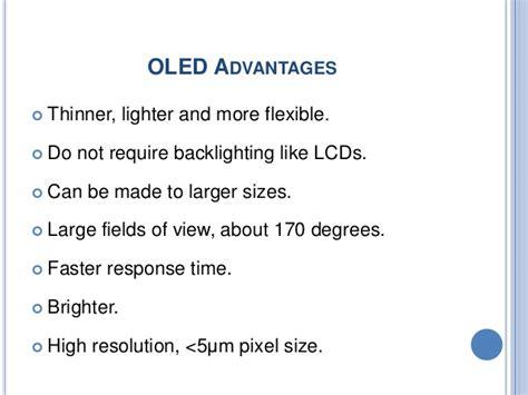 light emitting diode advantages oled technology seminar ppt