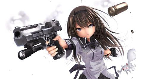 anime girl with gun wallpaper hd 50 42120 anime girls girl with gun jpg 798 girls with