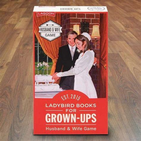 Husband and Wife Game   Ladybird Books for Grown Ups