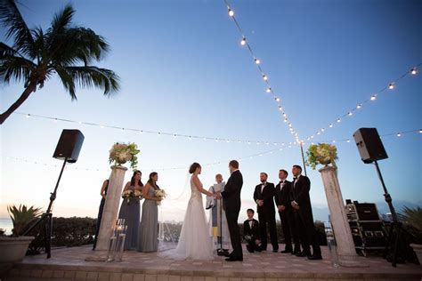 New Year's Eve Waterfront Wedding at Sunset Cove in Miami