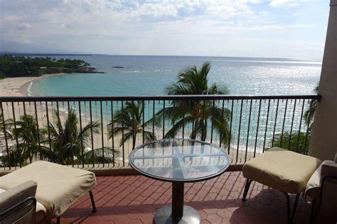 from a balcony view balcony at mauna kea hotel alain gayot