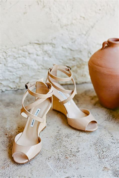 Wedge Heel Wedding Sandals by Best 25 Wedge Wedding Shoes Ideas On Bridal