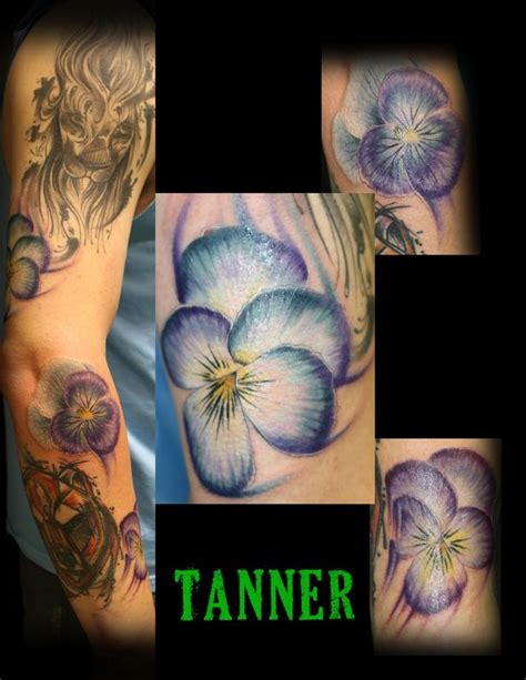 tattoo body art studio floral tattoo tanner by tanner vendal tattoos
