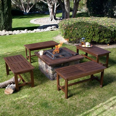 diy fire pit benches amazing diy patio furniture ideas