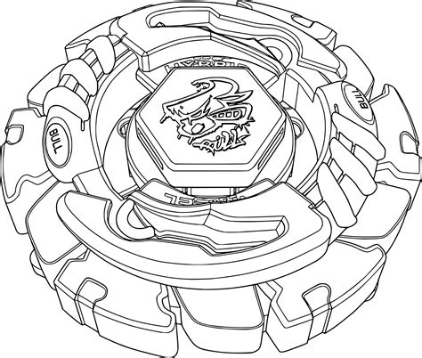 Related Pictures Coloriage Toupie Beyblade A Imprimer
