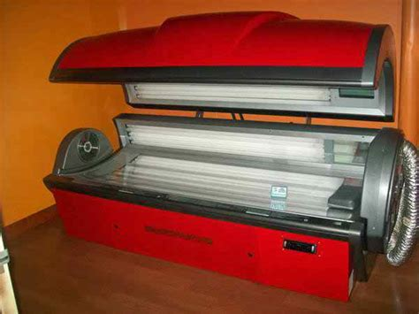 level 4 tanning bed large ets starpower level 4 52 lamp tanning bed