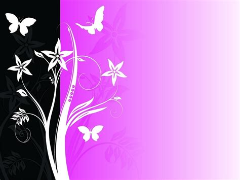 themes black and pink microsoft powerpoint themes black and pink