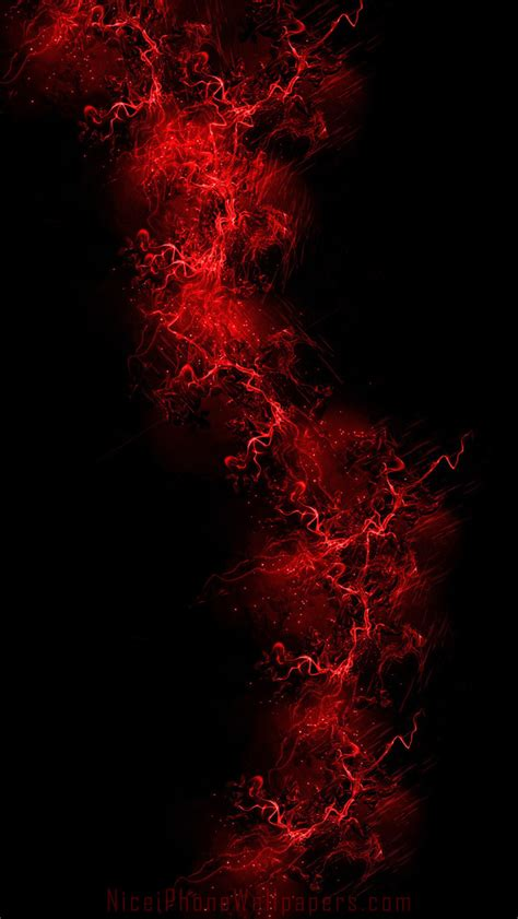 black  red iphone wallpaper wallpapersafari