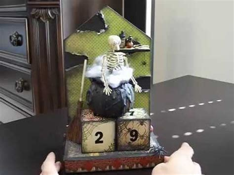 creepy witch s lair countdown home decor
