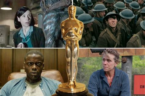 Academy Award For Best Also Search For Oscars The Complete List Of 2018 Academy Award Winners