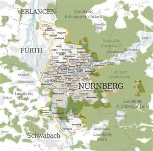 Nuremberg Germany Map by Map Of Nuremberg Germany