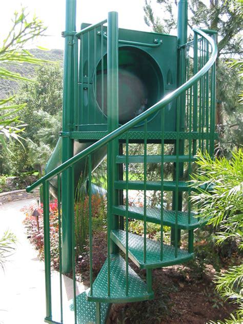 Landscape Structures Slide Structures Single Flume Landscape Hillside Slides