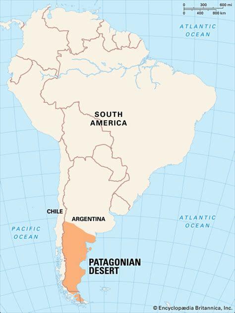 south america map desert patagonia map facts britannica