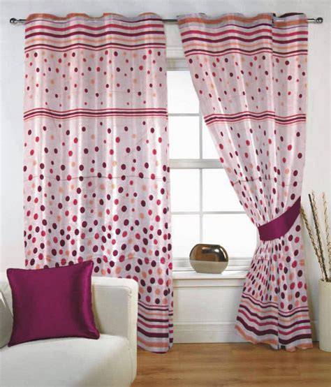 pink patterned eyelet curtains fabutex single window eyelet curtain floral pink buy