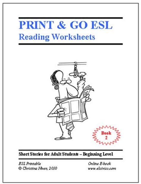 esol beginner printable worksheet