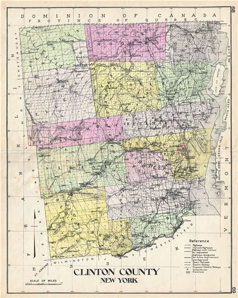 clinton ny clinton county new york geographicus rare antique maps
