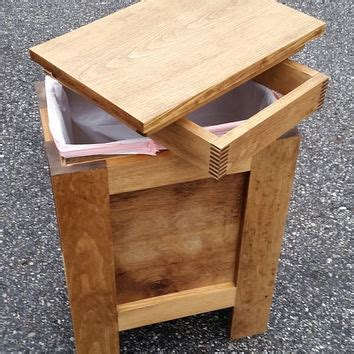wooden bathroom bin shop waste bin on wanelo