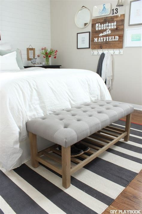 Best 25 Upholstered Bench Ideas On Pinterest Bed Bench