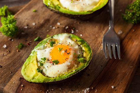 avocado egg boats baked avocado egg boats