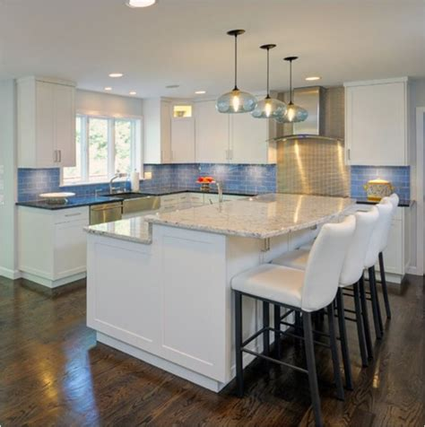how tall is a kitchen island counter vs bar height centsational style