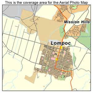 lompoc california map aerial photography map of lompoc ca california