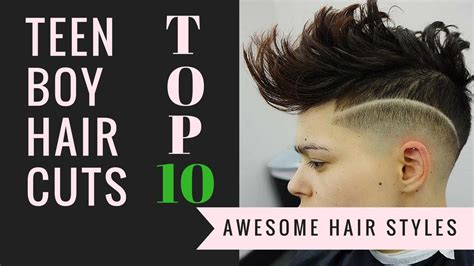 youtube young boys getting haircuts top 10 teen boys haircuts 2016 youtube
