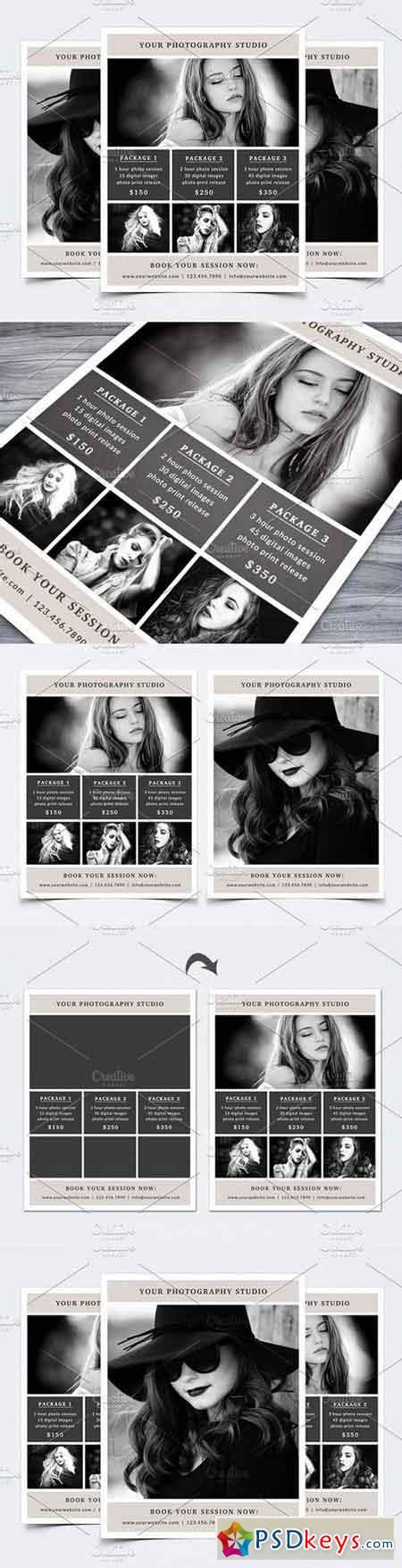 photography flyer template 1250159 187 free download