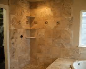 Travertine Tile Bathroom Travertine Master Bathroom Tile In