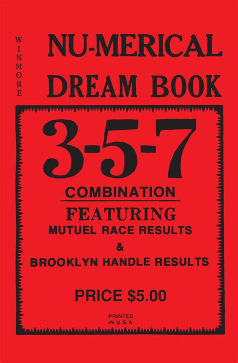 dreaming books 3 5 7 nu merical book lottery book ebay