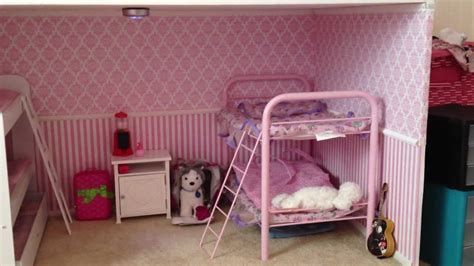 how to make an american girl bedroom american girl bedroom room tour how we designed our