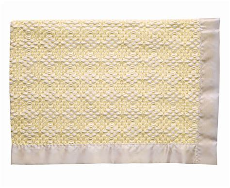 Cotton Crib Blanket by Embroidered And Personalized Handwoven Cotton Crib Blanket