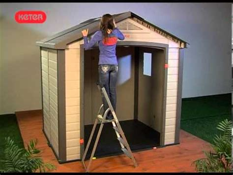 Keter Bellevue 8x6 Storage Shed by How To Build A Bellevue Keter Shed