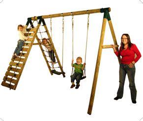 plum uakari swing set garden games tp wooden se