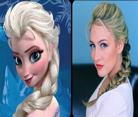 style small hair and freeze it disney hairstyle frozen elsa show your disney side