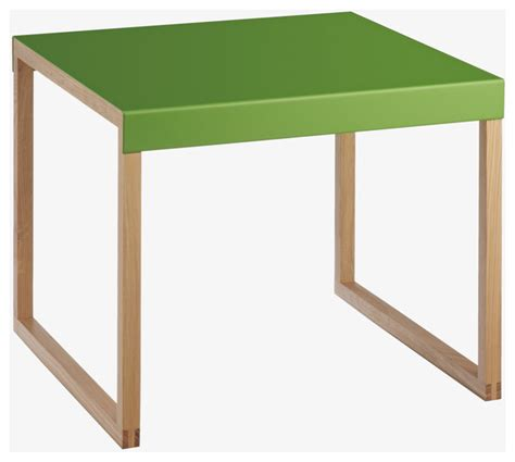Green Accent Table Kilo Green Occasional Table Modern Side Tables End Tables By Habitat
