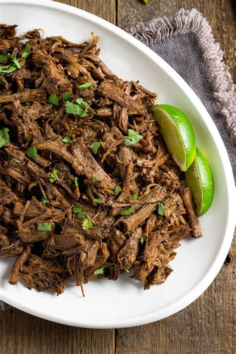 slow cooker barbacoa beef bowls keviniscooking com