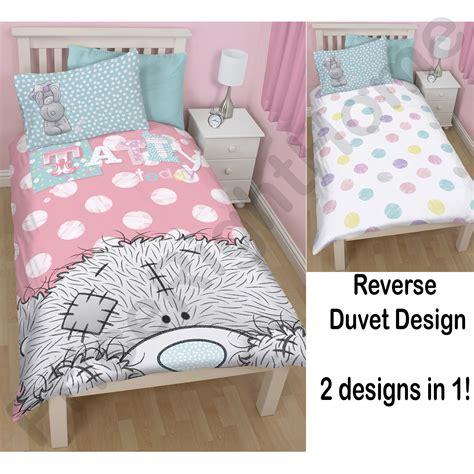 tatty teddy bedroom ideas me to you tatty teddy bonbon duvet cover set new