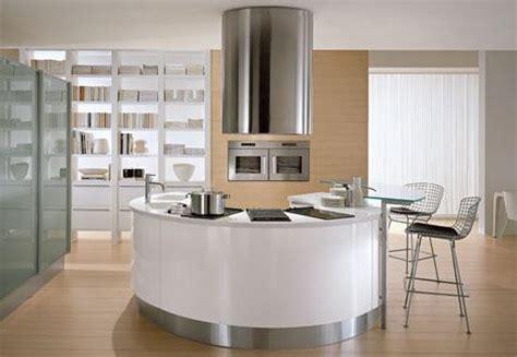 round kitchen design round countertops in round kitchen designs by pedini
