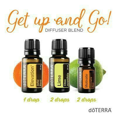 Doterra Lime get up and go essential diffuser blend doterra