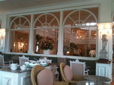 garden view tea room details of our afternoon tea at the grand floridian s garden view tea room disney every day