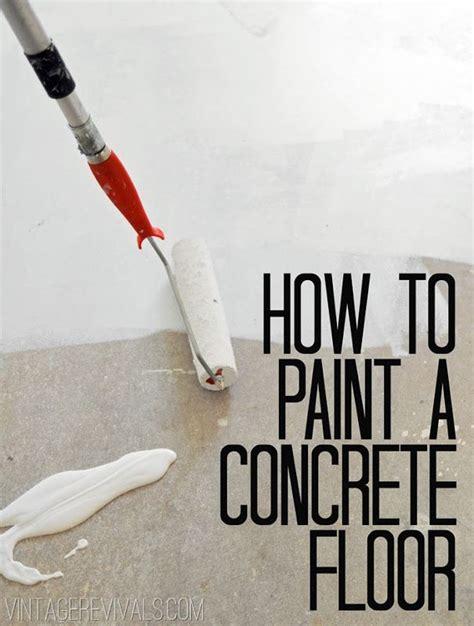 concrete floors ? The Perfect Black