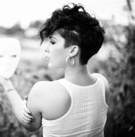 shave all sides and leave the top hairstyle shaved side womens haircut google search curls other